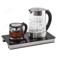 Чайник стеклянный KITFORT KT-635 (1,7л)
