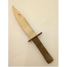 Сувенир нож деревянный №1 охотничий