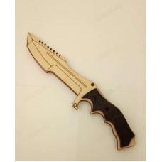Сувенир нож деревянный №2