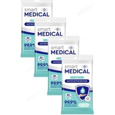 Салфетки влажные Smart medical антисептические 20шт