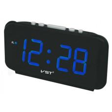 Часы настольные VST 806T-5 синие (говорящие)