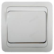 Выключатель одноклавишный IN HOME 2021 CLASSICO, белый