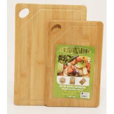 Набор разделочных досок из бамбука 2шт 16925