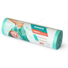 Мешки для мусора АНТИБАК+БИО 60л/15шт 205-105