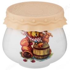 Банка для мёда с крышкой 300 мл 359-546