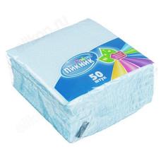 Салфетки бумажные Пикник 50шт однослойные 437-167