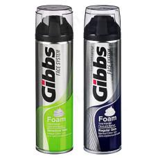 Пена для бритья GIBBS Regular/Сенситив 200мл 949-014