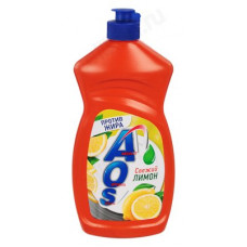 Средство для мытья посуды AOS Лимон 450г 992-035