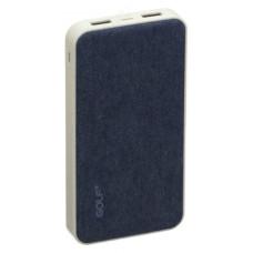 Power Bank 10000 mAh 2,1A 5V Li-Pol + Кабель Micro usb In Micro usb Out USB 1GOLF G31
