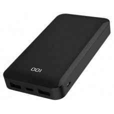 Power Bank 15000 mAh 3A 18V LED дисплей Type-C PD + QC GOLF G48