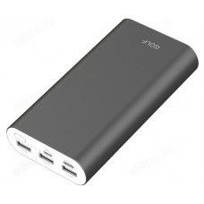 Power Bank 20000 mAh 2,1A 5V GOLF G66 + Кабель Micro USB/Type-C