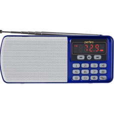 Радиоприёмник цифровой Perfeo ЕГЕРЬ (i120-BL) синий