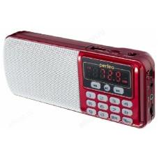 Радиоприёмник цифровой Perfeo ЕГЕРЬ (i120-RED) красный
