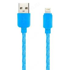 Кабель USB - 8pin 1м SmartBuy PLAIN COLOR iK-512cbox violet