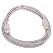 Кабель USB 2.0 АmAf 3.0m (K830/840/44420)
