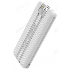 Power Bank 10000 mAh 2A GOLF L105 Type-C/Out USB,Micro USB,Type-C,Lithing White