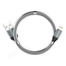 Кабель LDNIO LS491/ USB Micro/ 1m/ 2.4A/ медь: 86 жил/ Магнитная оплетка/ Gray