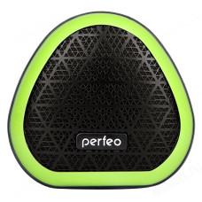 """Акустика Bluetooth Perfeo """" TRIANGLE"""" черная/зеленая"""