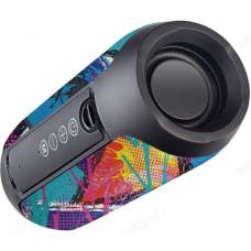 """Акустика Bluetooth 10W Perfeo """"STREET ART"""" FM, microSD, USB, AUX, 10Вт, 1200mAh, черная"""