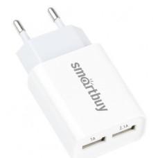 Зарядка сетевая SmartBuy SBP-2011 FLASH 2.1А+1А, 2USB