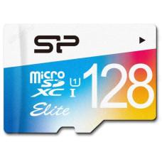 Карта MicroSD 128GB Siliсon Power Class10+адап.