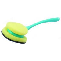 Щётка с губкой для посуды Ориджинал SV3133