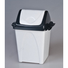 Ведро для мусора 10,5л Премиум Т165 с плавающей крышкой