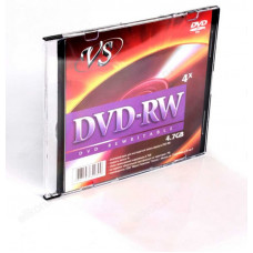 Диск VS DVD-RW 4.7 Gb 4x Slim/5 (200)