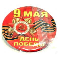 Сувенир значок 9 Мая d=3см