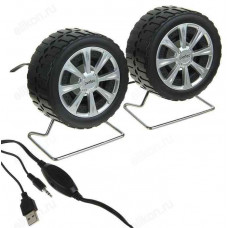 Акустика 2.0, 6W, Perfeo Wheels PF-038