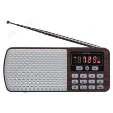Радиоприёмник цифровой Perfeo ЕГЕРЬ (i120-BK) коричневый