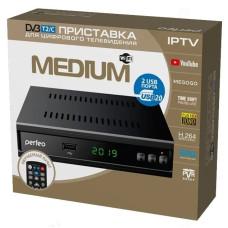 "Ресивер цифровой Perfeo DVB-T2/C ""MEDIUM"""