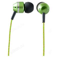Наушники проводные Perfeo TANGLE зелен вкладыши