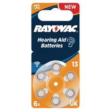 Батарейка для слухового аппарата Rayovac 4606 V13