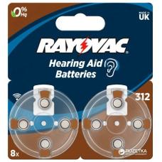 Батарейка для слухового аппарата Rayovac 4607 V312