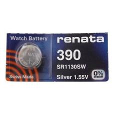Батарейка 390 SR1130S G10 1,55V 80mAh Renata