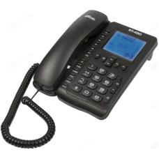 Телефон стационарный RITMIX RT-490 черный