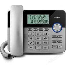 Телефон стационарный TEXET TX-259 чёрный/серебро