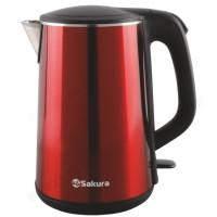 чайник металлический SAКURA SA-2156MBL (1.8л) дв.стенки