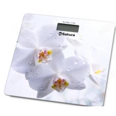 Весы напольные SAKURA SA-5065WF орхидея
