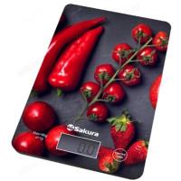 весы кухонные SAKURA SA-6077BS 8кг