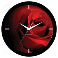 Часы настенные САЛЮТ П-Б6-400 Роза