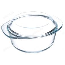 Кастрюля стекло SATOSHI с крышкой 2,5л 825-002