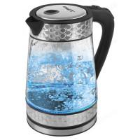 чайник стеклянный SCARLETT SC-EK27G58 (1,7л) сталь
