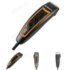 Машинка дстрижки SCARLETT SC-HC 63 C18 черный с оранжевым