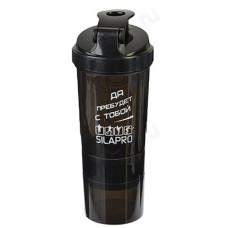 Бутылка для воды шейкер SILAPRO 500 мл 088-001