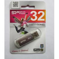Память USB 32 GB Silicon Power Ultima II silver