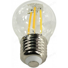 Лампа светодиодная LED E27 A60 8W 30K Smartbuy филаментная