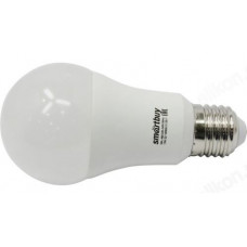 Лампа светодиодная LED E27 A60 15W 60K Smartbuy