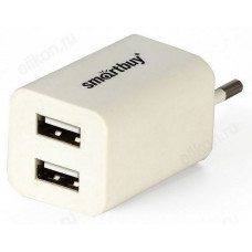 Cетевое ЗУ SmartBuy FLASH 2 USB (SBP-2022)